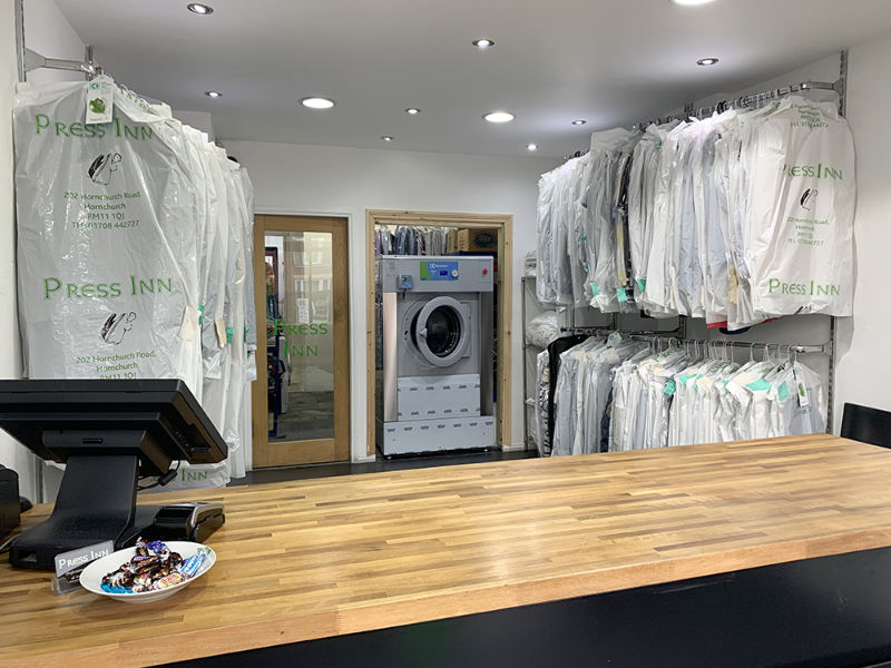 London-based ironing service press on with Wet Cleaning solution