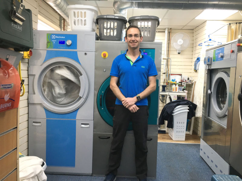 Case Study – Die-Hard Dry Cleaners, Samuels of Shropshire, Converts to Wet Cleaning